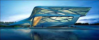 زاها حدید- مرکز هنرهای نمایشی - منطقه فرهنگی ابوظبی