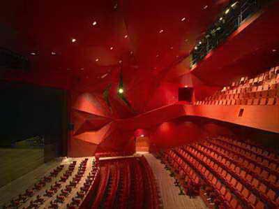 معمار و معماری - یو ان استودیو - بن وان برکل - تئاتر Agora