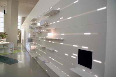 طراحی داخلی - سیستم نوری -  ژان نوول