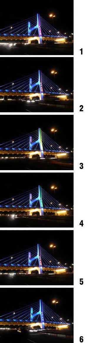 شهر و شهر - نور و رنگ - پل کابلی تبریز