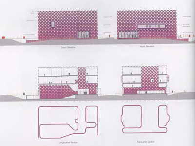 معمار و معماری - ایکس تی یو - مرکز فرهنگی رومیلی در فرانسه