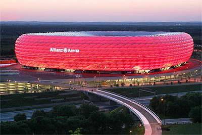 معجزه پلی مر برای هزاره جدید - ETFE - استادیوم Alianz Arena- دمورن و هرزوگ