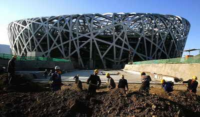 معجزه پلی مر برای هزاره جدید - ETFE - استادیوم ملی پکن - دمورن و هرزوگ
