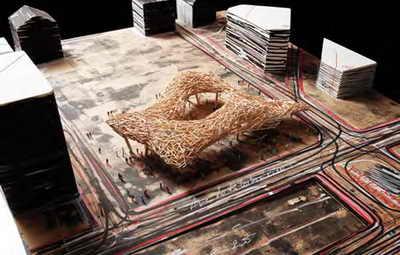 آرن کوئینز - طراح صنعتی - City Space