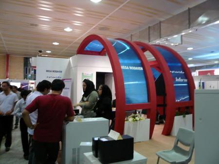 معماری و فضای نمایشگاهی - نمایشگاه الکامپ تبریز