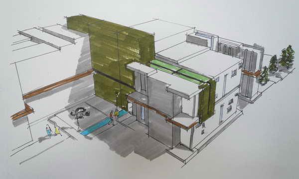 آشنایی با طراحی معماری - طراحی یک  خانه - زهرا رستمی