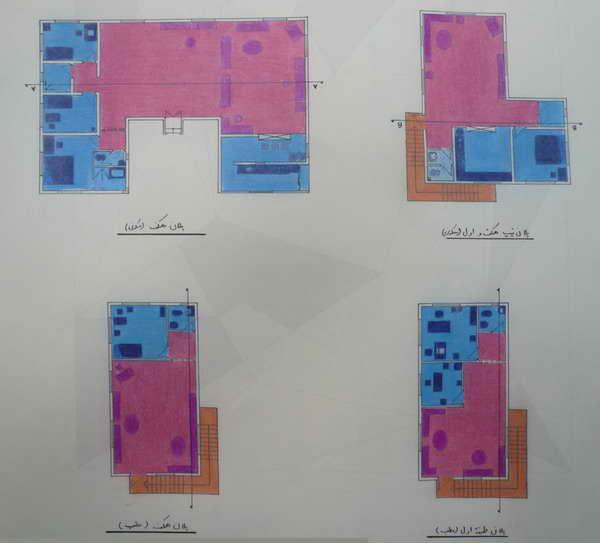 آشنایی با طراحی معماری - طراحی یک  خانه - کیمن قربانی نژاد