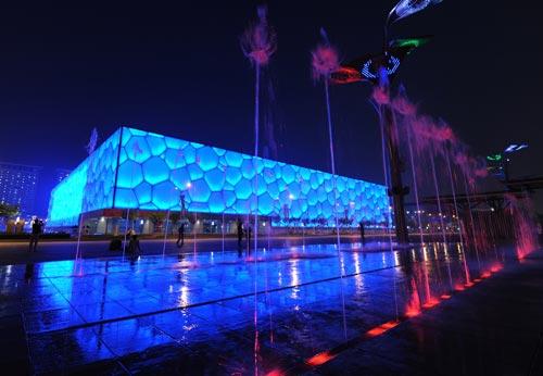 بازی های المپیک 2008 پکن - مرکز ورزش های آبی