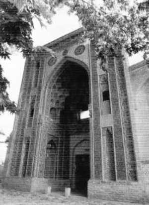 بقعه شیخ عبدالصمد - نطنز - دوره ایلخانی