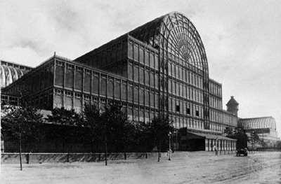 معماری و فضای نمایشگاهی - کریستال پالاس
