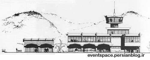 کنگره بین المللی زنان آرشیتکت در رامسر - طرح اولیه فرودگاه رامسر