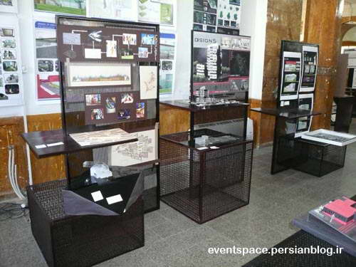 نمایشگاه معماری دانشجویان دانشگاه آزاد هریس