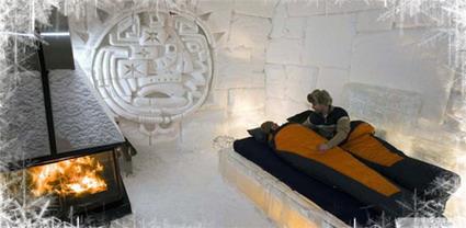هتل های شگفت انگیز جهان - هتل یخی در کانادا