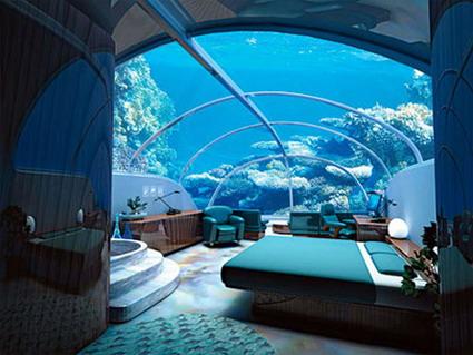 هتل های شگفت انگیز جهان - هتل زیر آب در فیجی
