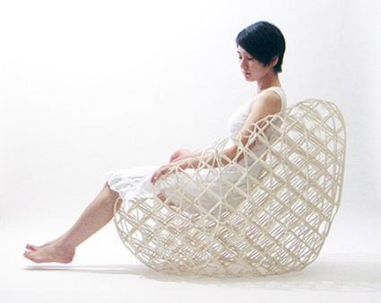 صندلی کاغذی - Ryuji Nakamura