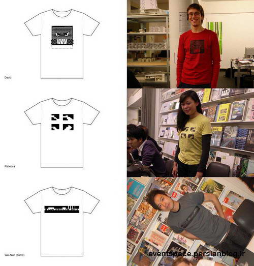 NL Architects T-Shirts - S,M,L.NL