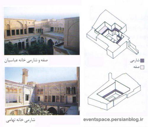 الگوهای معماری ایرانی؛ الگوی پایین - بالا و شارمی - Iranian Architecture Patterns