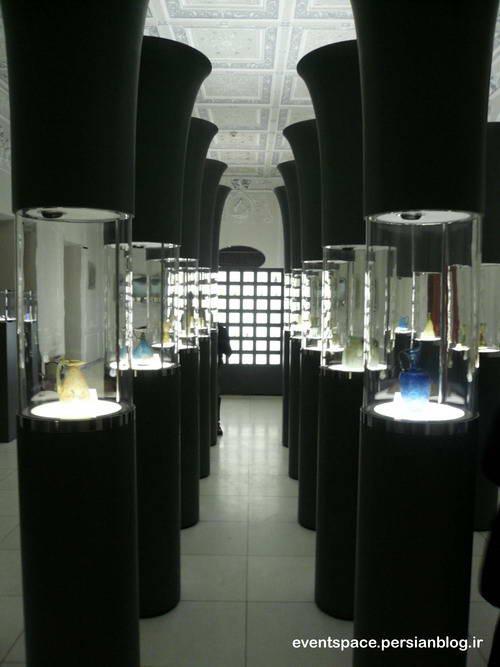 موزه آبگینه و سفالینه های ایران - The museum of Iranian Terracotta and Glassware