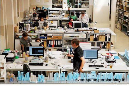 یک روز در دفتر کار ام وی آر دی وی - One Day In MVRDV Office