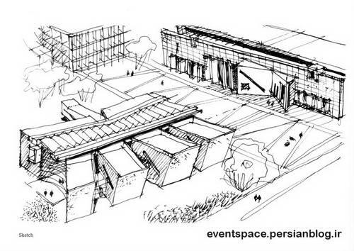 اسکیس های معماری - Postgraduate School of Business - Miguel Angel Roca