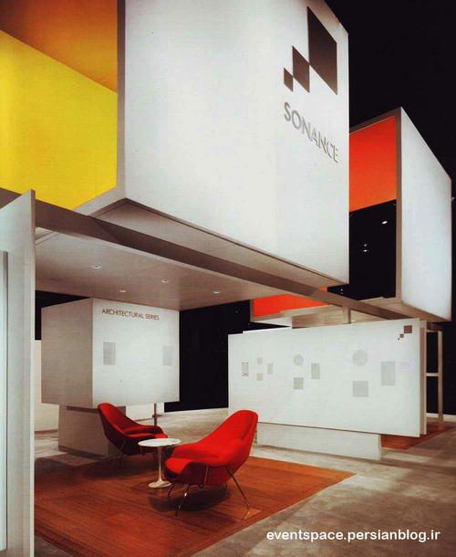 پروژه های معماری - نمایشگاه ها - غرفه سینمای خانگی