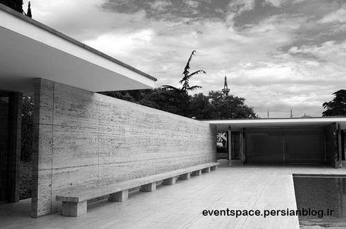 غرفه بارسلون (میس ون درروهه) - Barcelona Pavilion Mies Van Der Rohe