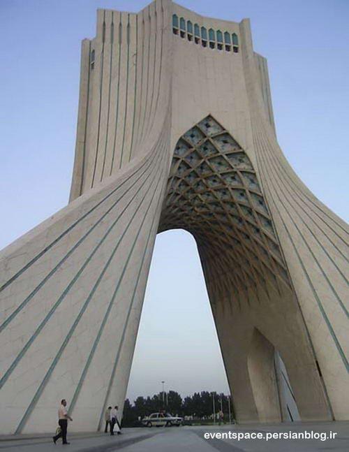 برج آزادی تهران - حسین امانت