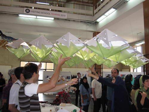کارگاه آموزشی مدرسه AA در دانشگاه تهران- AA Visiting School In Tehran University