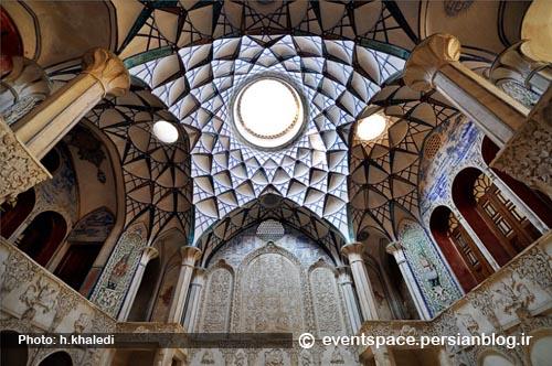 الگوهای معماری ایرانی - الگوی دستگاه سرپوشیده - Iranian Architecture Patterns