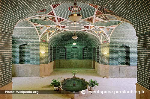 الگوهای معماری ایرانی - الگوی حوضخانه - Iranian Architecture Patterns