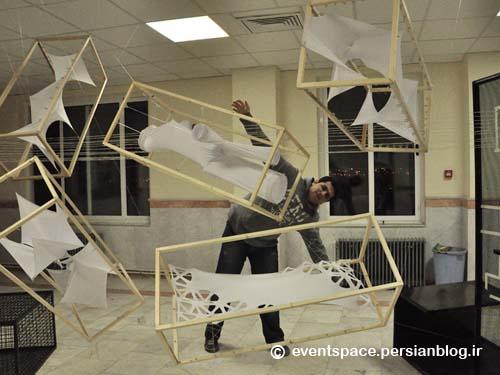 فریاد تار و پود ـ دانشجویان معماری دانشگاه آزاد اسلامی هریس