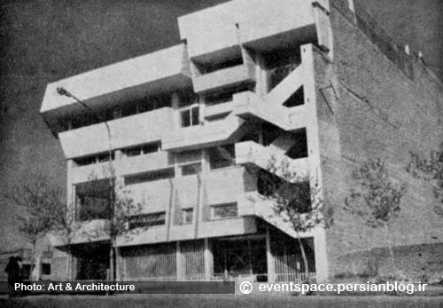 فرمالیزم در معماری تهران