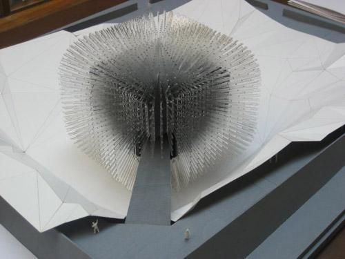ماکت غرفه انگلستان در نمایشگاه اکسپوی شانگهای - UK Pavilion for Shanghai World Expo 2010